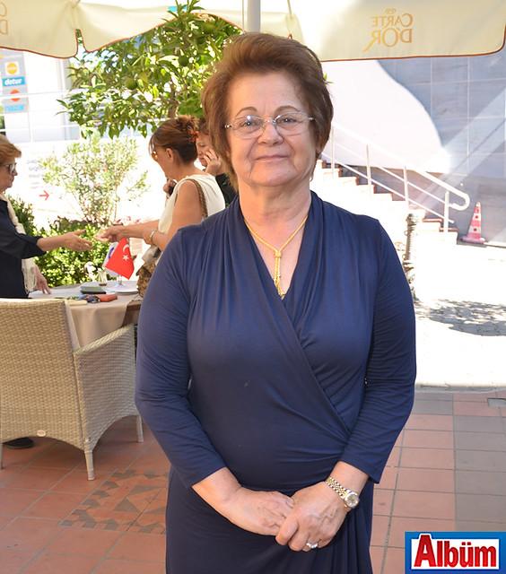 Alanya Kadınları Yardımlaşma Derneği Başkanı Nurcan Okan