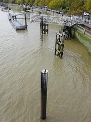 Savoy Pier from Waterloo Bridge