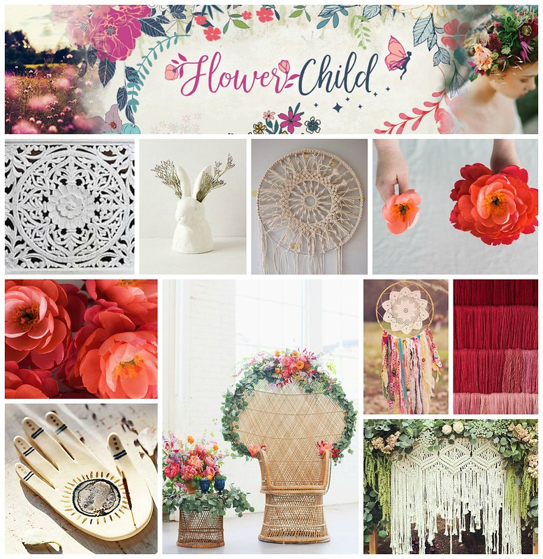 Flower Child Quilt Market Inspiration
