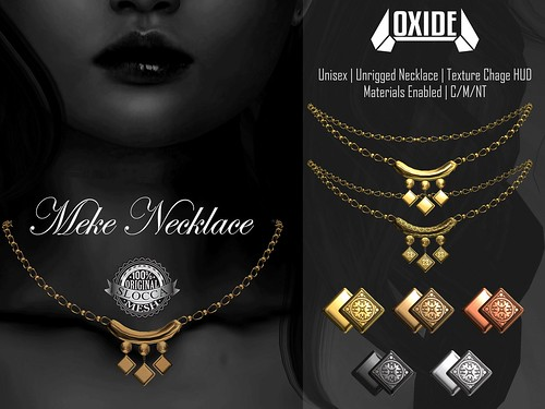 OXIDE Meke Necklace - Mainstore Release