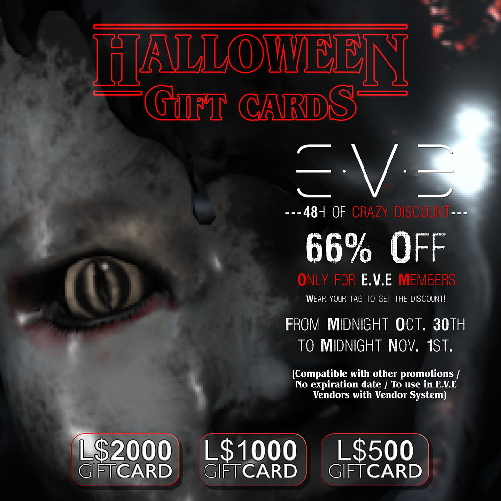 66% Off this Halloween for E.V.E Members - TeleportHub.com Live!