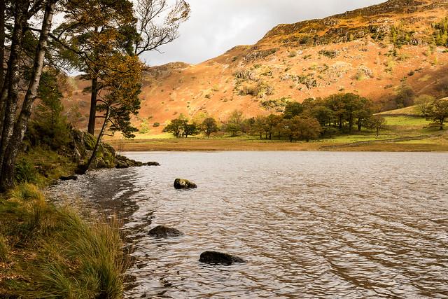Blea Tarn under Lingmoor Fell