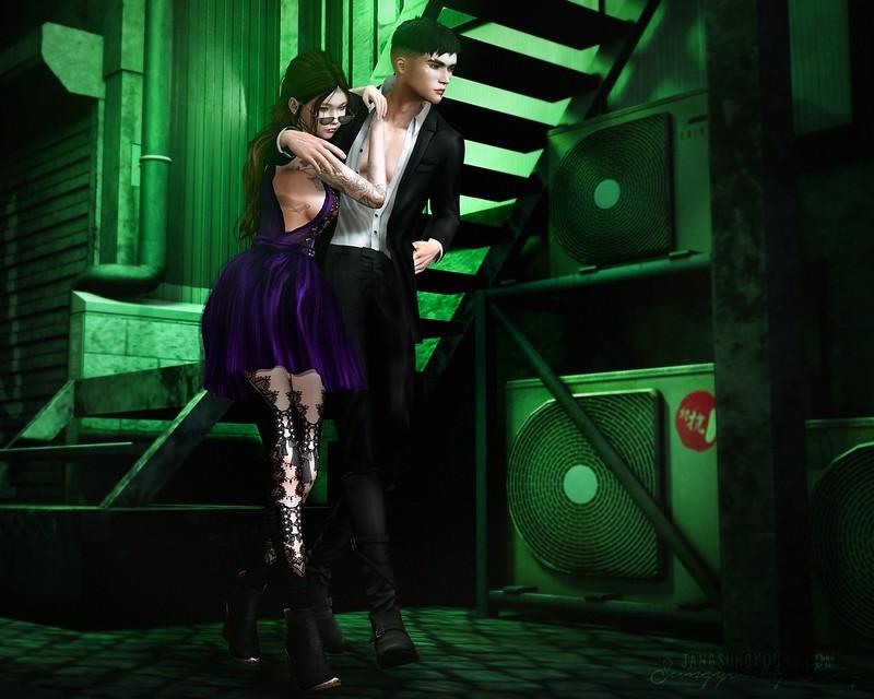 067. We like dressing dark and pretending we are vampires...