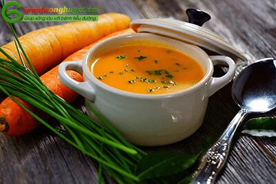 Cháo cà rốt – món ăn trị tiểu đường hiệu quả