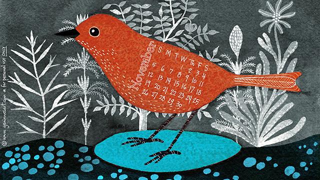 Nov17 desktop calendar