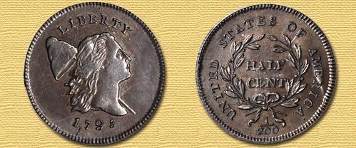 1795 Cohen-2a Half Cent