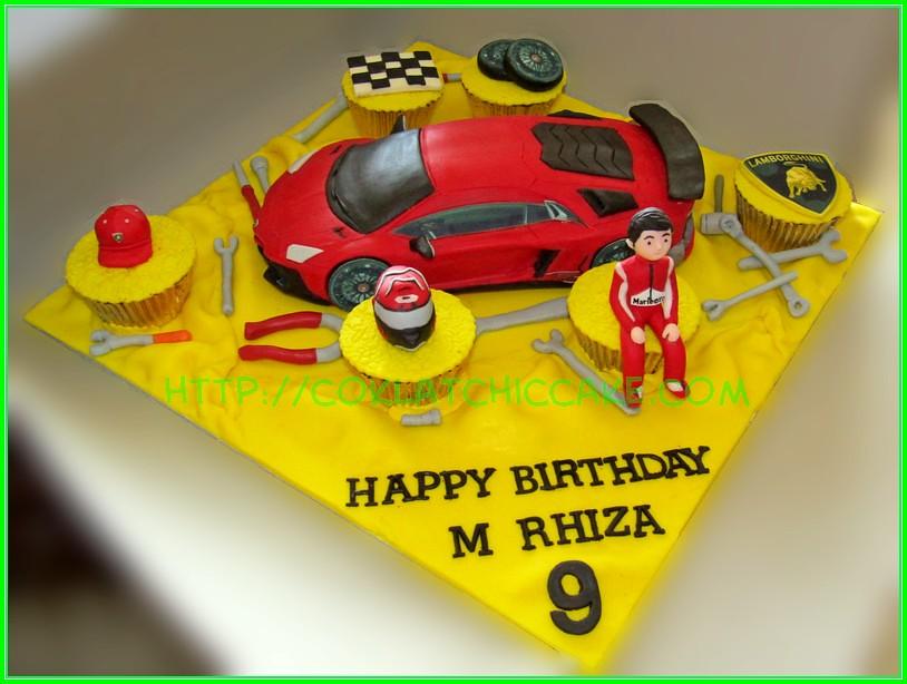 Cake Lambo M RHIZA