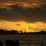 Another Sunset at Preston Docks