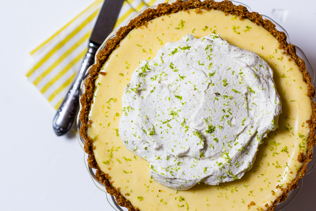 Key Lime Key Lime Pie via lunchforonePie-3