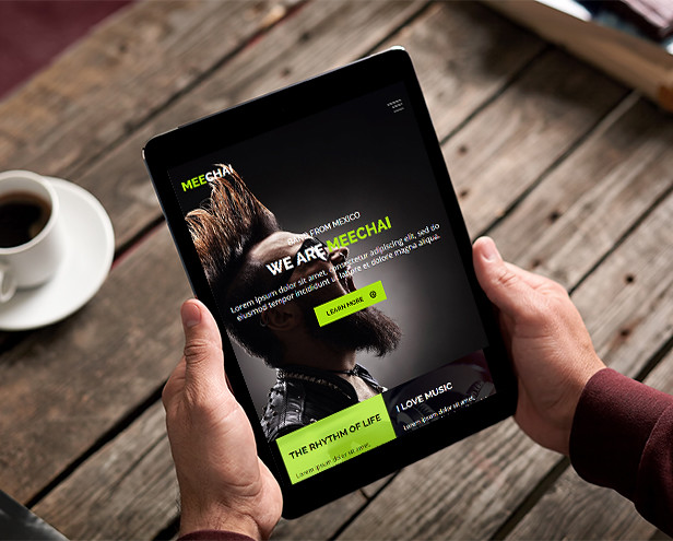 Mellie - Music Muse Template - 8