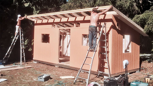 Tuff Shed construction