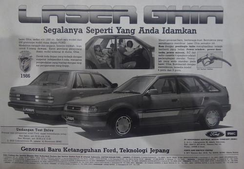 Ford Laser - Kompas, 3 Maret 1986