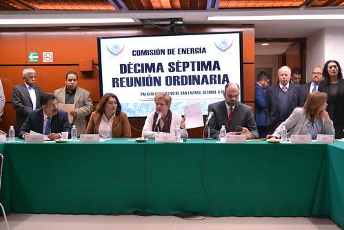 Comisión de Energía XVII Reunión Ordinaria 4/Oct/17