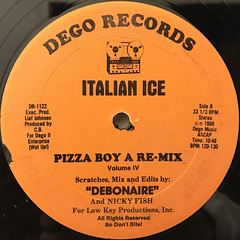 ITALIAN ICE:MARS RE-PUMPED(LABEL SIDE-B)
