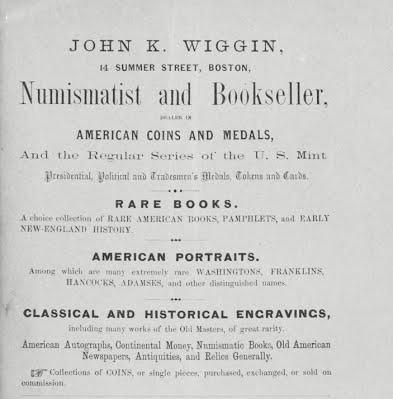 Wiggin ad 1-19,1863-Haines cat