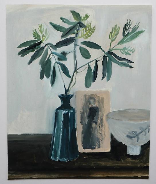 still life with eucalyptus