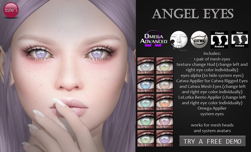 Angel Eyes (for FLF) - TeleportHub.com Live!