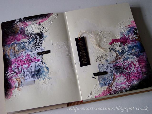 flourish art journal pages 4