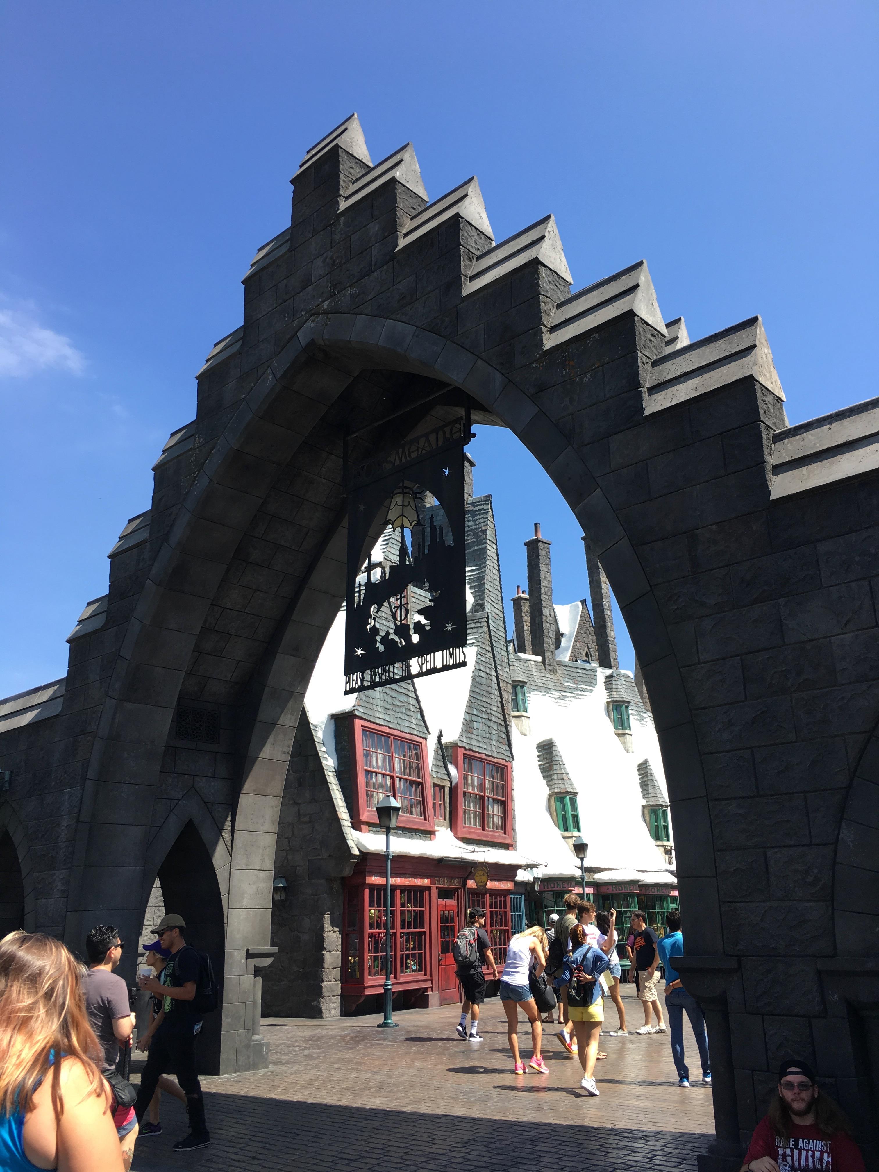Universal Studios Hollywood - hogsmeade