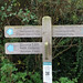 SDW: Botolphs: finger post 60Km to Eastbourne & 100km to Winchester