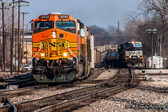 BNSF 5648 | GE AC4400CW | BNSF Thayer South Subdivision