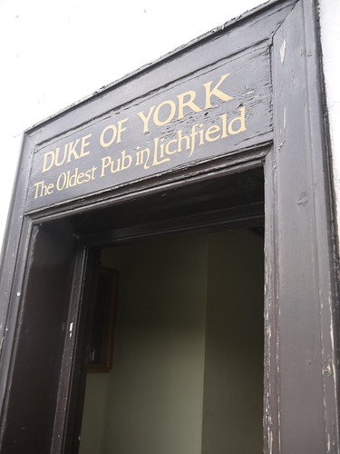 Duke of York, Lichfield