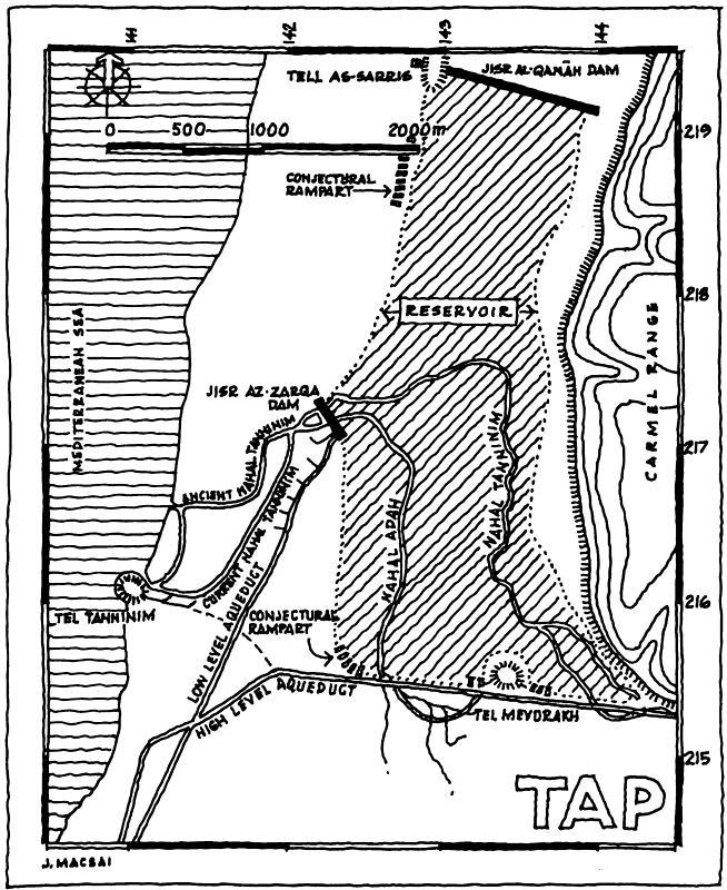 Nahal-Taninim-dams-plan-1