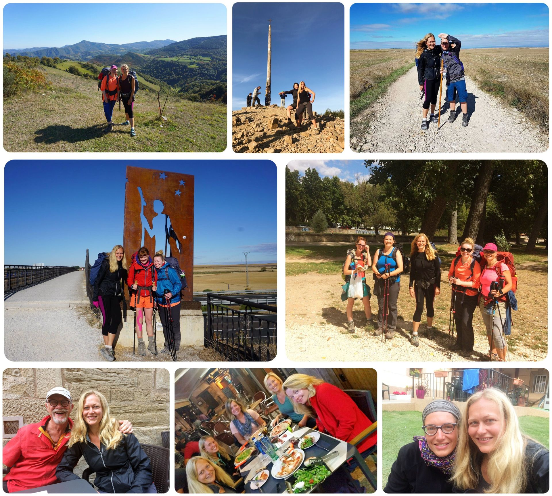 Camino de Santiago friends