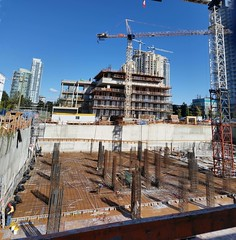 Burnaby construction - Goldhouse October 2017