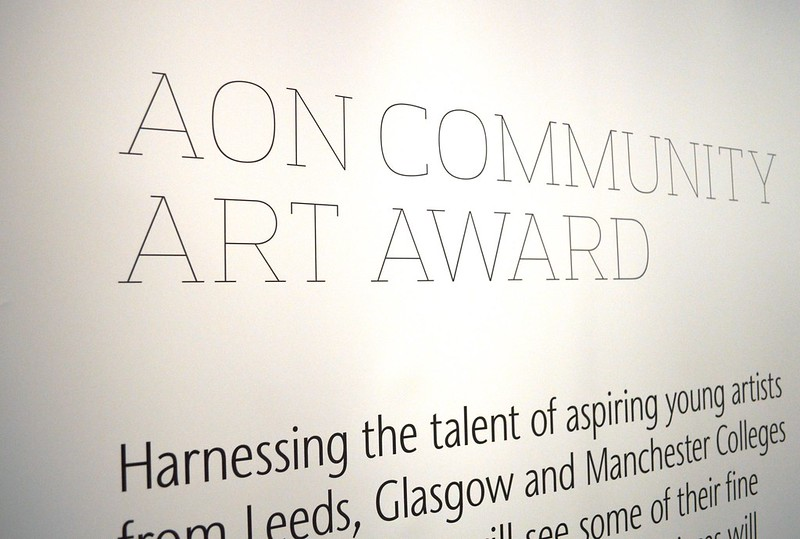 Aon Community Art Awards Launch