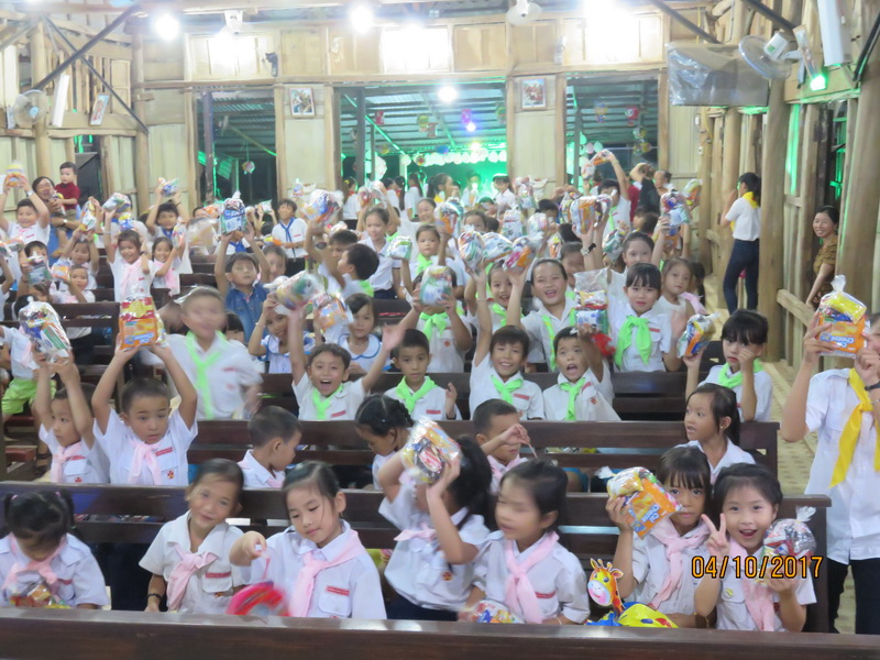Giáo xứ Bình Hải Vui Đón Tết Trung Thu 2017