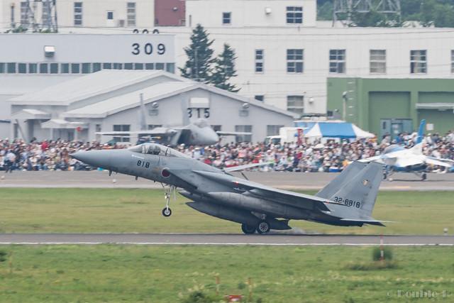 JASDF Chitose AB Airshow 2017 (44) 201SQ F-15J #818