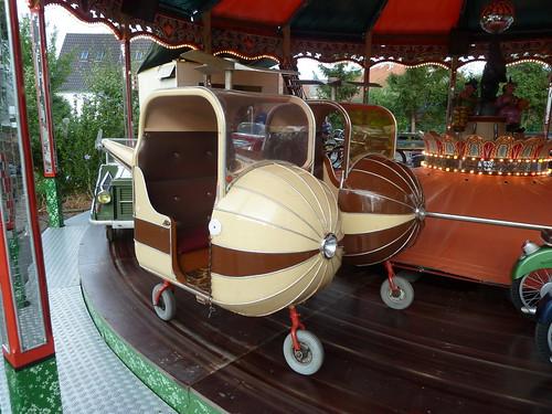 Altes Karussell – Hubschrauber