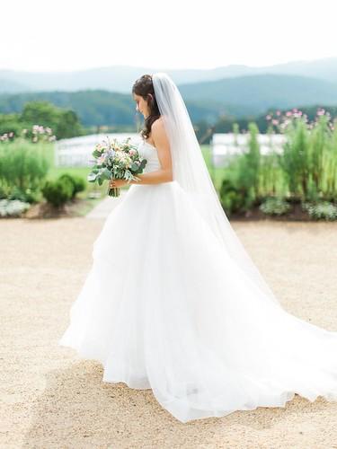 Tendance Robe du mariage 2017/2018 – Hayley Paige wedding dress: Virginia Summer Wedding at Pippin Hill Farm…