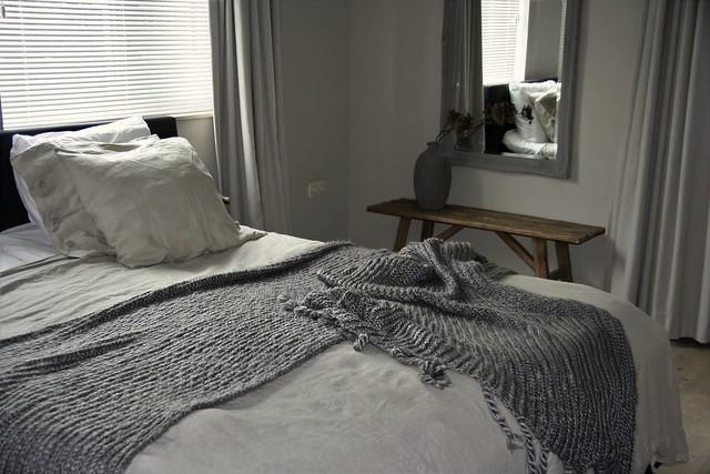 Slaapkamer landelijk sober