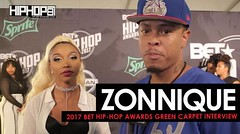 """Zonnique Talk Her Project 'Love Jones', Her New Video """"Patience"""", the Misconceptions of Fame, Women Entrepreneurship & More on the 2017 BET Hip-Hop Awards Green Carpet"""