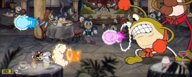 Cuphead - Ribby and croaks Boss