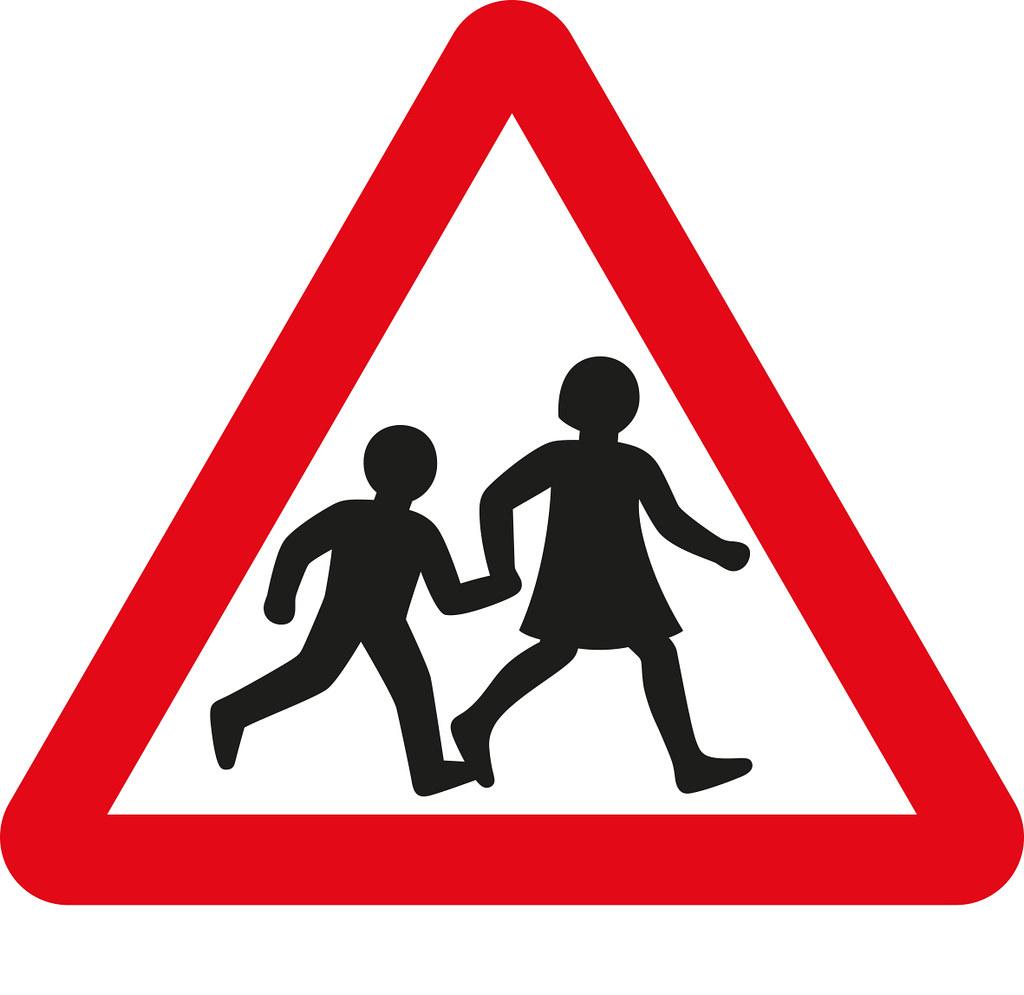 Margaret Calvert, School Children Crossing.