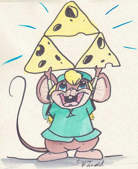Day Thirteen: The Triforce is Cheese of Course!