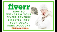 HOW TO WITHDRAW YOUR FIVERR REVENUE DIRECTLY INTO YOUR LOCAL BANK ACCOUNT