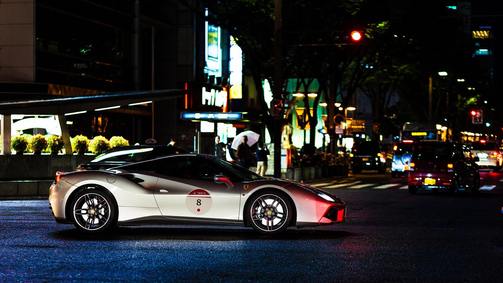 Ferrari 70th anniversary in Japan - 488GTB (1)