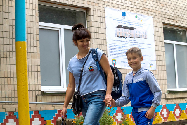 Improving energy efficiency in schools in Ukraine