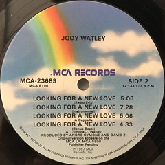JODY WATLEY:LOOKING FOR A NEW LOVE(LABEL SIDE-B)