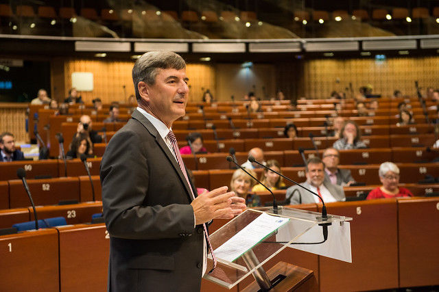 Andreas Kiefer, Secretary General of the Congress of Local and Regional Authorities of the Council of Europe