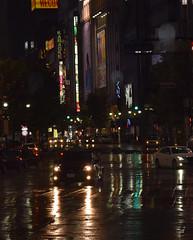 Shibuya in the rain