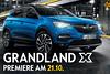 Opel Grandland X: Händlerpremiere