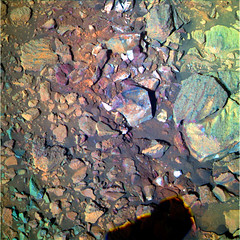 Rocks and Pebbles Near Endeavour Crater 4, variant