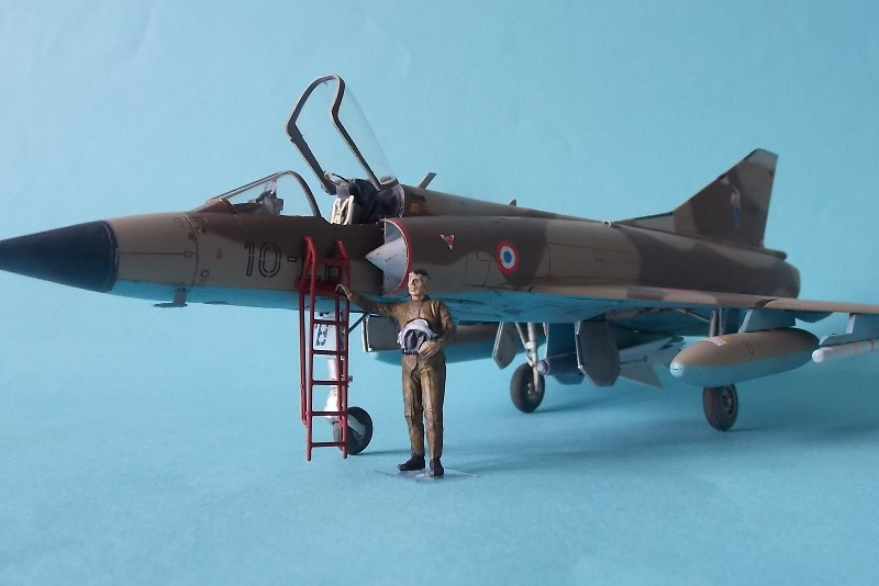 Mirage IIIC 048 Eduard 35 Finished