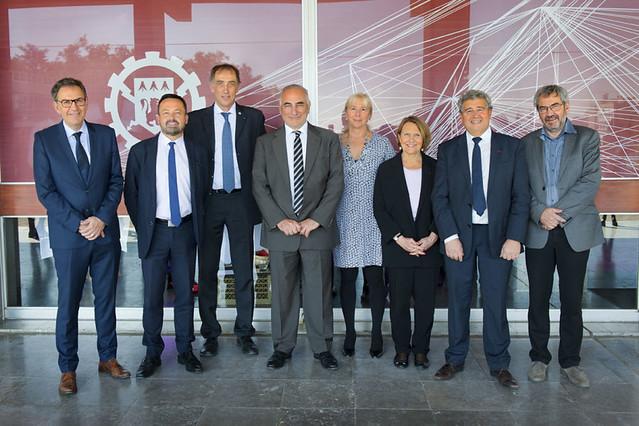 Cérémonie des 50 ans du lancement du campus de l'École centrale de Lyon