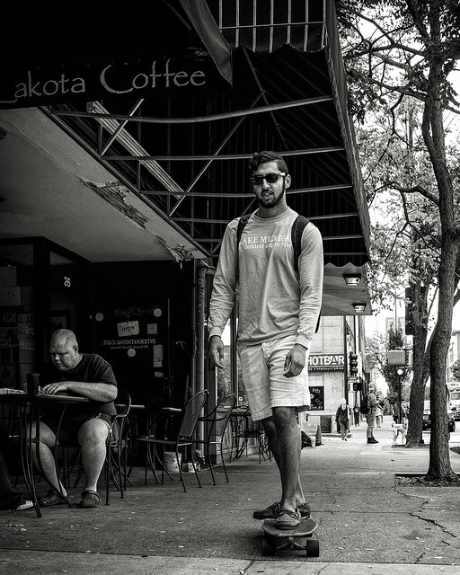 Millenial adulthood bw - 8102